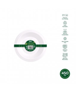 Bol Rond Compostable Off...